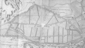 plano Real Cortijo siglo xviii