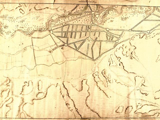 Planos de los terrenos del Cortijo de San Isidro