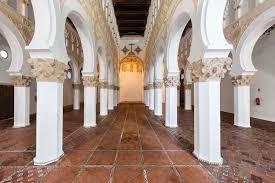 sinagoga de santa maría la blanca en toledo