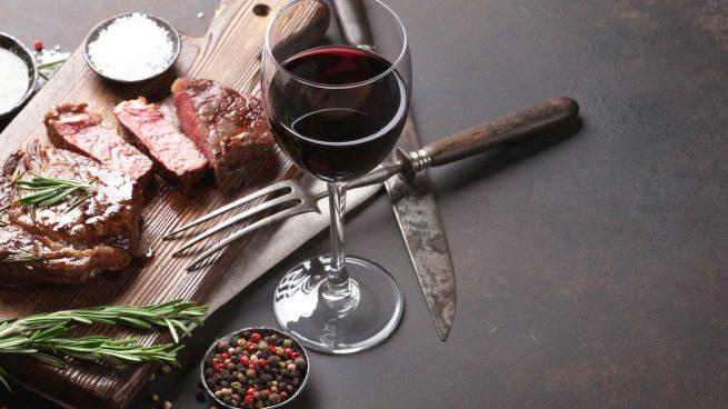 maridaje de vinos tintos para carnes