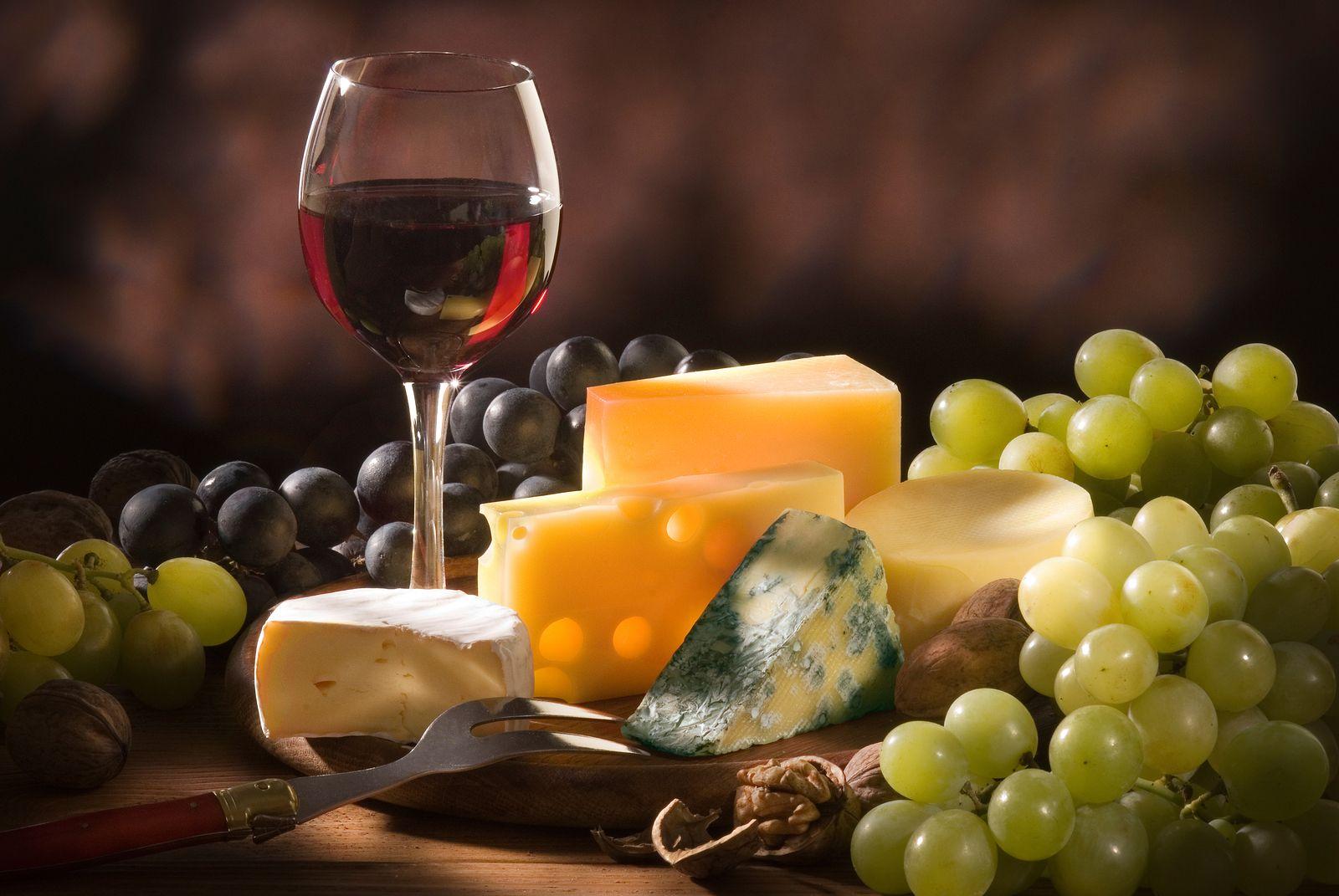 maridaje de vinos tintos para quesos